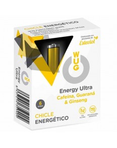 WUG ENERGY CHICLE ENERGETICO 6 UDS