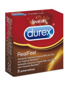 DUREX REAL FEEL 3 UDS  - 1
