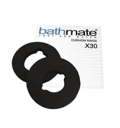 KIT 3 ALMOHADILLAS BATHMATE X30 COMFORT NEGRO