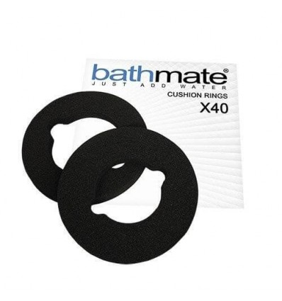 KIT 3 ALMOHADILLAS BATHMATE X40 COMFORT NEGRO