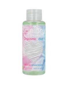 SANINEX ORGASMIC DUO ACEITE DE MASAJE 100 ML