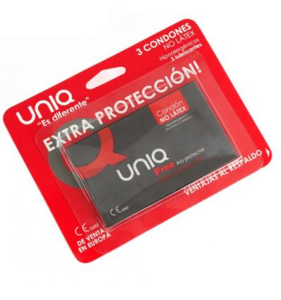 UNIQ FREE ARO PROTECTOR PRESERVATIVO SIN LATEX  - 1