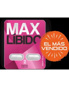 MAX LIBIDO CÁPSULAS