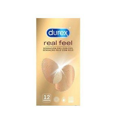 DUREX REAL FEEL 12 UDS   - 3