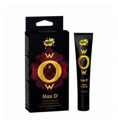 Gel clitorial WOW max O de Wet 15 ml
