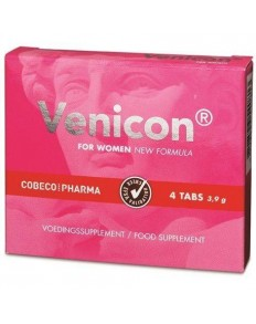 COBECO VENICON SUPLEMENTO LIBIDO MUJER 4 CAP