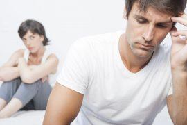 problemas de erección y estrés