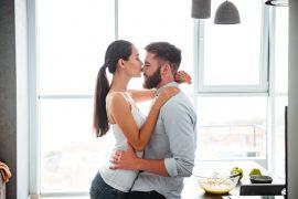 Los cuatro beneficios de los besos