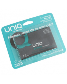 UNIQ SMART PRE-ERECCIÓN PRESERVATIVO SIN LATEX  - 1