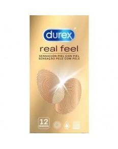 DUREX REAL FEEL 12 UDS   - 3
