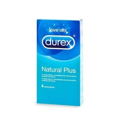 DUREX NATURAL PLUS 6 UNIDADES   - 2