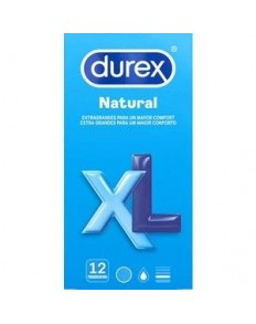 DUREX NATURAL XL 12 UDS   - 2